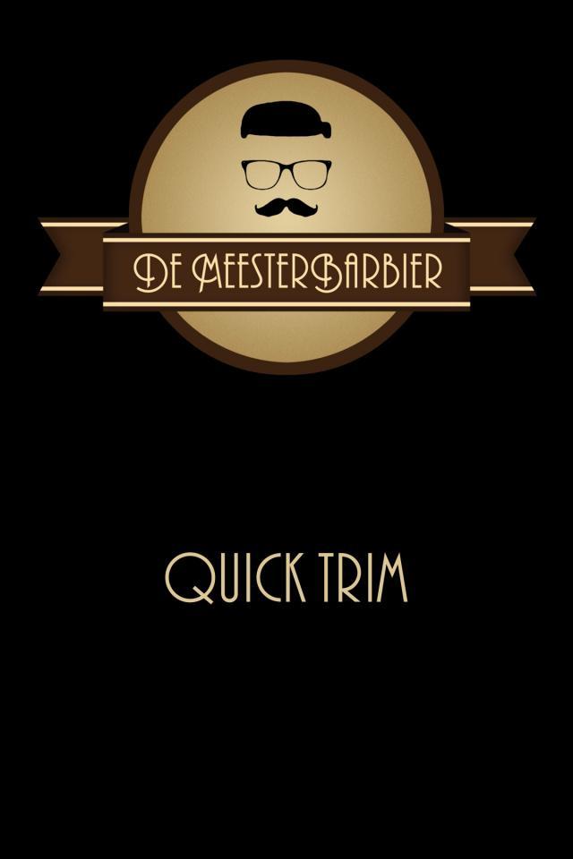 De Meesterbarbier: Quick Trim